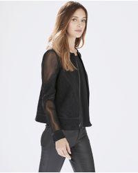Parker - Black Vortex Combo Jacket - Lyst