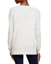 Aqua | Gray Cashmere Circle Tie Dye Sweater | Lyst