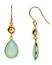 Argento Vivo | Blue Teardrop Earrings | Lyst