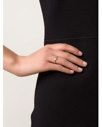 Ileana Makri | Metallic 'wisdom Eye' Ring | Lyst