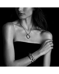 David Yurman - Metallic Waverly Bracelet With Diamonds, 5mm - Lyst