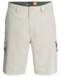 Quiksilver | Gray Maldive Cargo Shorts for Men | Lyst