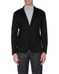 Paolo Pecora - Black Blazer for Men - Lyst