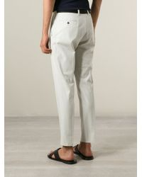 Dolce & Gabbana | Natural Classic Chinos for Men | Lyst
