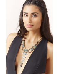 Natalie B. Jewelry | Green The Ladder Necklace | Lyst