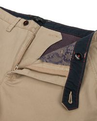 Ted Baker   Natural Clegan Slim Fit Chino for Men   Lyst