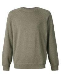 Brunello Cucinelli - Green Crew Neck Sweater for Men - Lyst