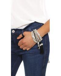 Samantha Wills - Metallic Midnight Rendezvous Bracelet Set - Shiny Silver - Lyst
