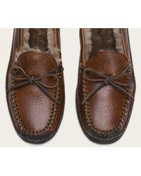 Frye | Brown Porter Tie Shearling for Men | Lyst