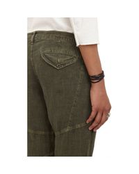 "Bliss and Mischief - Green Linen ""Harvey"" Pants - Lyst"