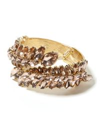 Banana Republic | Metallic Kiss Kiss Cuff Bracelet | Lyst