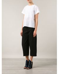 Protagonist - White Back Button Top - Lyst