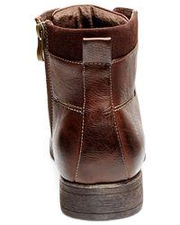 Steve Madden | Brown Madden Bradly Boots for Men | Lyst