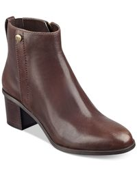 Marc Fisher | Brown Samona Booties | Lyst