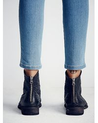 Free People - Black Granada Ankle Boot - Lyst