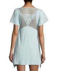 La Perla - White Serenade Embroidered Short Nightgown - Lyst