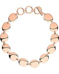 Links of London | Metallic Grace 18ct Rose Gold Vermeil Bracelet | Lyst
