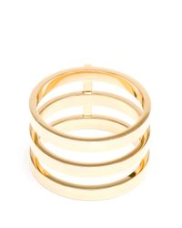 Repossi | Metallic 18k Yellow Gold Berbère Ring | Lyst