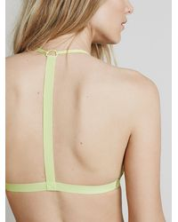 Free People - Green Fish In The Sea Strappy Bra - Lyst
