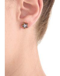 Marc By Marc Jacobs - Metallic Star Earrings - Silver - Lyst