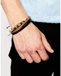 Classics 77 - Brown Chopes Bracelet Pack for Men - Lyst