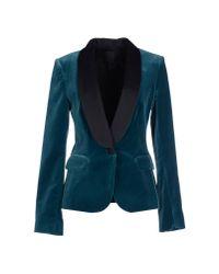 Pinko | Blue Blazer | Lyst