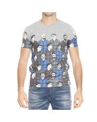 Frankie Morello - Gray T-shirt for Men - Lyst