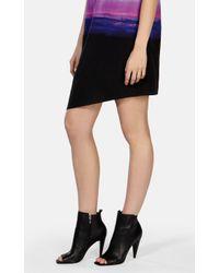 Karen Millen - Black Perforated Peep Shoe Boot - Lyst