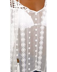 House of Harlow 1960 - Stevie Blouse - White - Lyst
