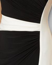 Ralph Lauren - White Lauren Dress - Cap Sleeve Color Block - Lyst