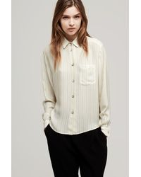 Rag & Bone - Natural Jo Anne Shirt - Lyst