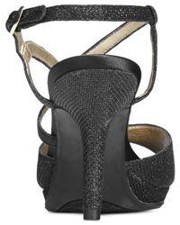 Bandolino - Black Swain Evening Sandals - Lyst