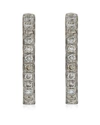 Annoushka | Metallic Eclipse Fine Hoop Earrings | Lyst
