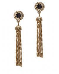 House of Harlow 1960 | Metallic Sunburst Tassel Earrings | Lyst