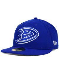 KTZ | Blue Anaheim Ducks C-dub 59fifty Cap for Men | Lyst