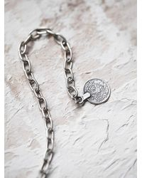 Free People - Metallic Chanour Womens Antalya Coin Collar - Lyst