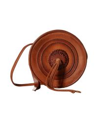 Frye - Brown Layla Concho Circle Bag - Lyst