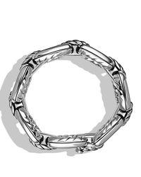 David Yurman - Metallic Cable Link Bracelet - Lyst