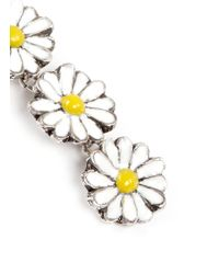 Philippe Audibert | Yellow 'margueritte' Daisy Drop Earrings | Lyst