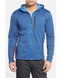 The North Face | Blue 'canyonlands' Full Zip Hoodie for Men | Lyst