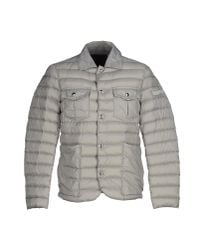 Peuterey | Gray Down Jacket for Men | Lyst