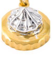 True Rocks | Metallic 'iced Gem' Necklace | Lyst