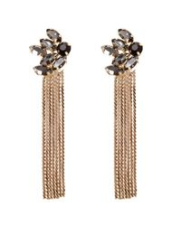Coast | Metallic Tallulah Tassel Earring | Lyst