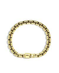 David Yurman - Yellow Box Chain Bracelet, 8mm for Men - Lyst