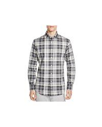 Polo Ralph Lauren - Gray Flannel Plaid Slim Fit Button Down Shirt for Men - Lyst