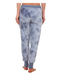 Pj Salvage | Blue Tie-dye Jammies Lounge Pants | Lyst