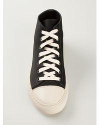 Sofie D'Hoore - Black 'Fyodor' Hi-Top Sneakers - Lyst