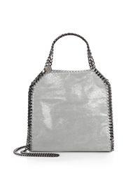 Stella McCartney | Gray Mini Baby Bella Shoulder Bag | Lyst