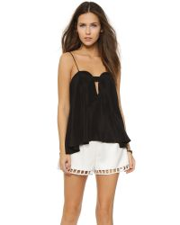 OTTE New York | Sweetheart Cami - Black | Lyst