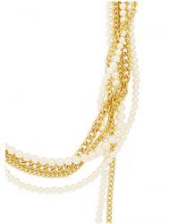 BaubleBar | Metallic Chain Kimmy Strands | Lyst
